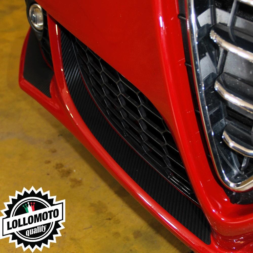 Adesivi Carbon Paraurti Anteriore Alfa Romeo Giulietta Carbonio