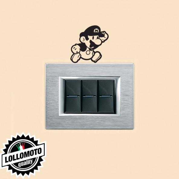 Adesivo Prese Luce Super Mario Cartoon Cameretta Bambini