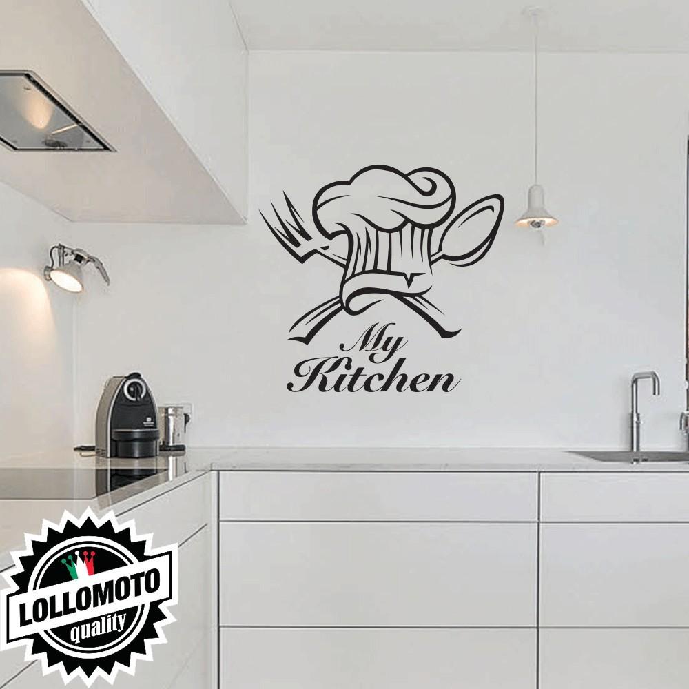 Adesivo Murale My Kitchen Cucina Arredamento da Muro Home