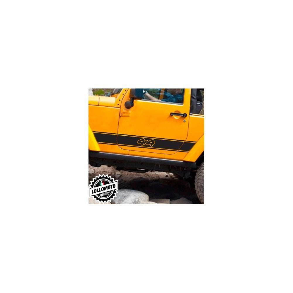 Acquista 2x Strisce Universali Auto 4x4 Off Road Fuoristrada