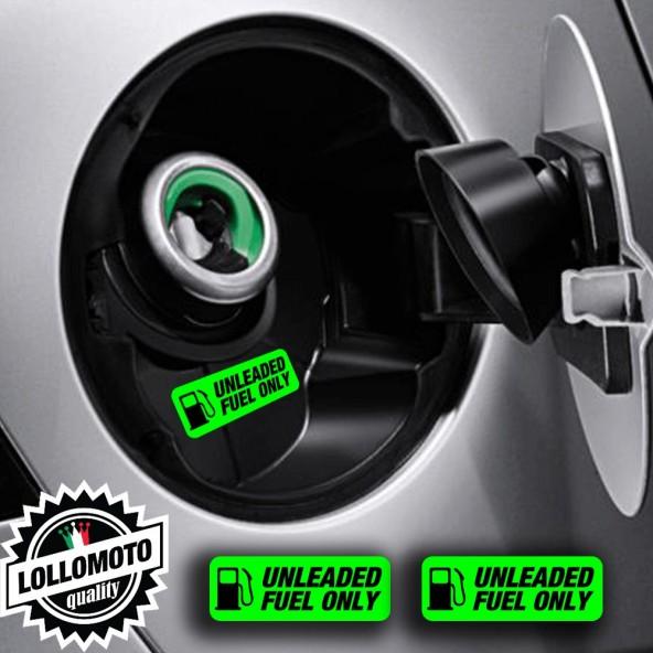 2x Adesivi Diesel Carburante Rifornimento Tappo Auto Gasolio Adesivi Stickers Stampati