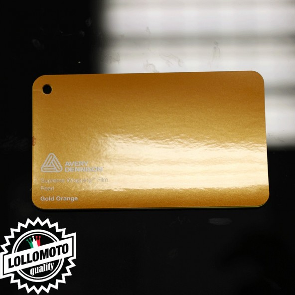 Blaze Orange Matte Metallic Pellicola Car Wrapping Avery Dennison™ Supreme Wrapping Film Cast Professionale Adesiva