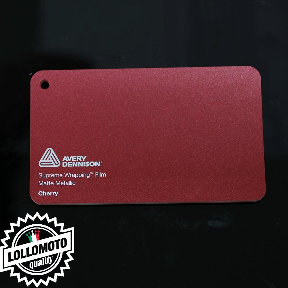 Garnet Red Matte Metallic  Pellicola Car Wrapping Avery Dennison™ Supreme Wrapping Film Cast Professionale Adesiva