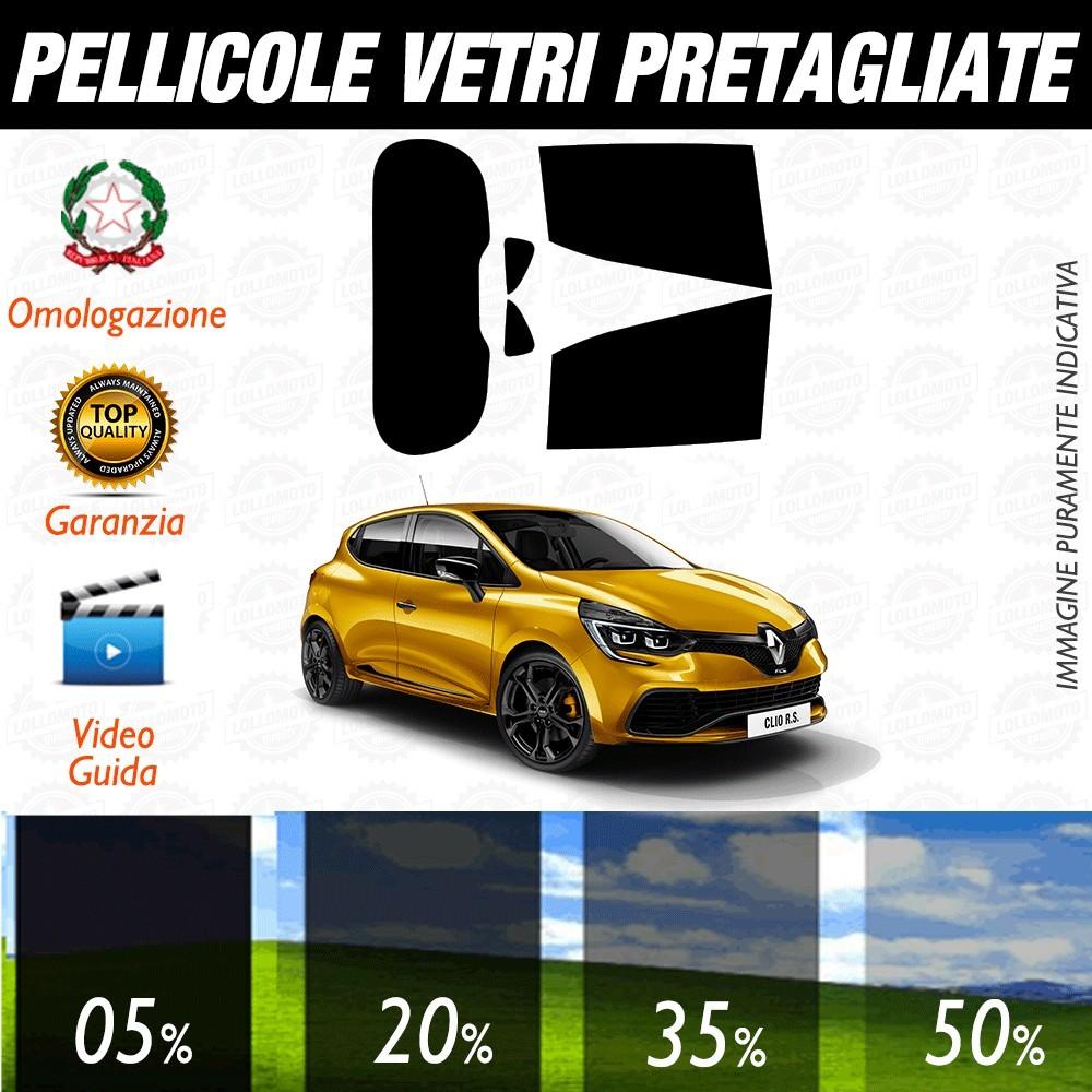 Renault Clio 12-17 Pellicole Oscuramento Vetri Auto Pre Tagliate a Misura Posteriore