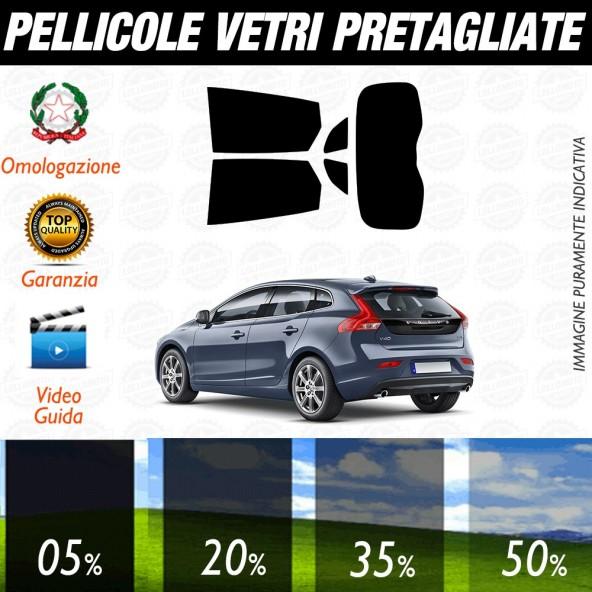 Volvo XC-60 2008-2012 Pellicole Oscuramento Vetri Auto Pre Tagliate a Misura