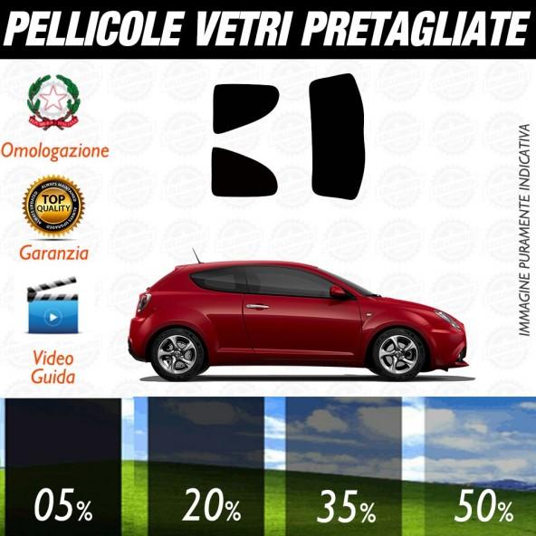 Alfa Romeo GT dal 2004 Pellicole Oscuramento Vetri Posteriori Auto Pre Tagliate a Misura