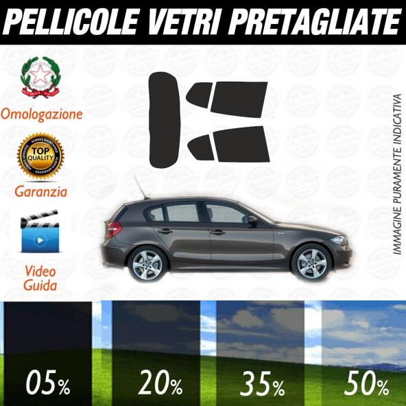 Bmw Serie 1 Coupé 08-13 Pellicole Oscuramento Vetri Auto Pre Tagliate a Misura