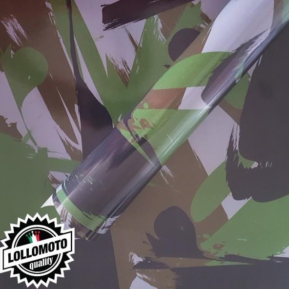 Mimetico Brush Artico Pellicola Car Wrapping Adesiva Rivestimento Auto Mimetica