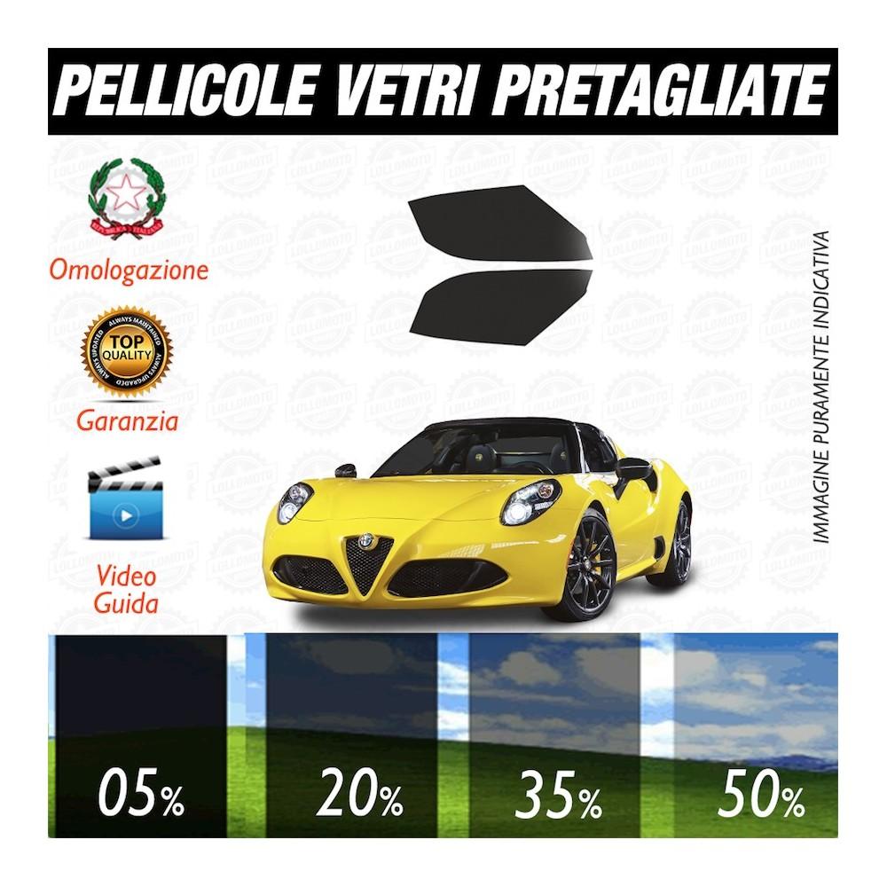 Alfa Romeo 147 3P 06-16 Pellicole Oscuramento Vetri Anteriori Auto Pre Tagliate a Misura
