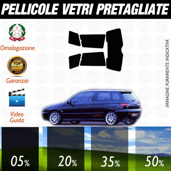 Alfa Romeo 156 Berlina 97-06 Pellicole Oscuramento Vetri Posteriori Auto Pre Tagliate a Misura