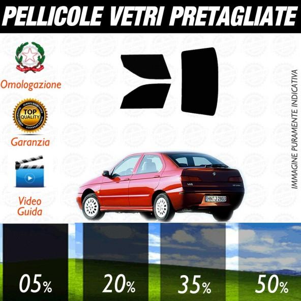 Alfa Romeo 145 3P 95-02 Pellicole Oscuramento Vetri Posteriori Auto Pre Tagliate a Misura