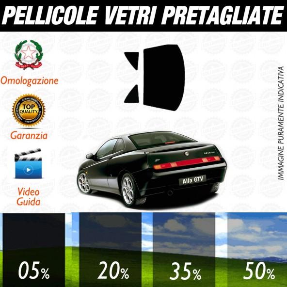 Alfa Romeo 146 5P 95-01 Pellicole Oscuramento Vetri Posteriori Auto Pre Tagliate a Misura