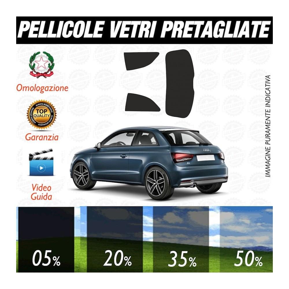 Audi A3 04-12 Pellicole Oscuramento Vetri Auto Pre Tagliate a Misura
