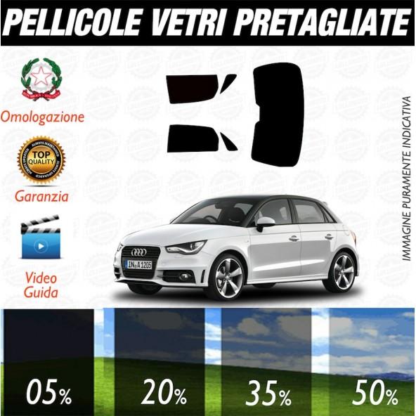 Audi A1 3P 10-17 Pellicole Oscuramento Vetri Auto Pre Tagliate a Misura
