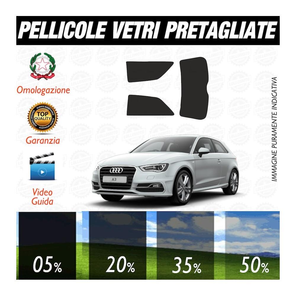 Audi A1 5P 10-17 Pellicole Oscuramento Vetri Auto Pre Tagliate a Misura