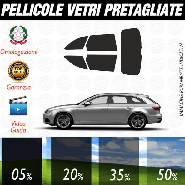 Audi A3 3P 12-17 Pellicole Oscuramento Vetri Auto Pre Tagliate a Misura