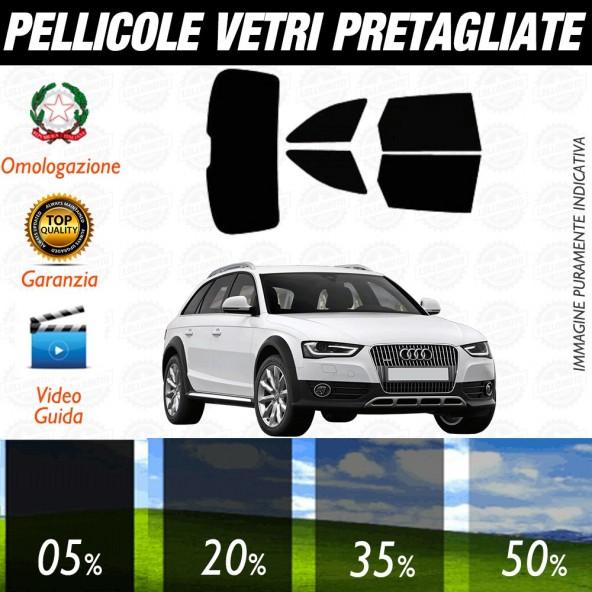 Audi A4 Avant 16-17 Pellicole Oscuramento Vetri Auto Pre Tagliate a Misura