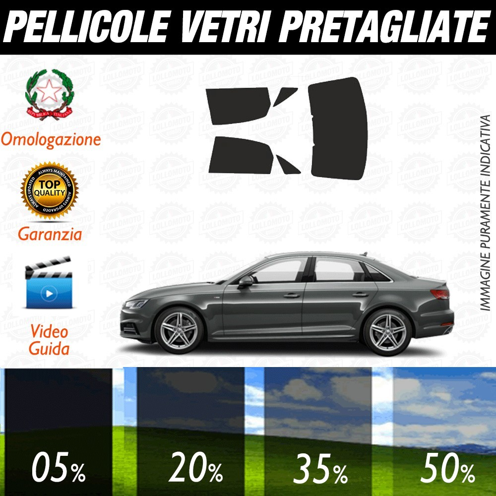 Audi A4 All Road 11-15 Pellicole Oscuramento Vetri Auto Pre Tagliate a Misura