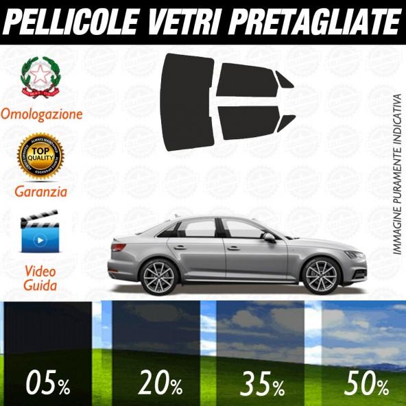 Audi A4 Berlina 09-15 Pellicole Oscuramento Vetri Auto Pre Tagliate a Misura