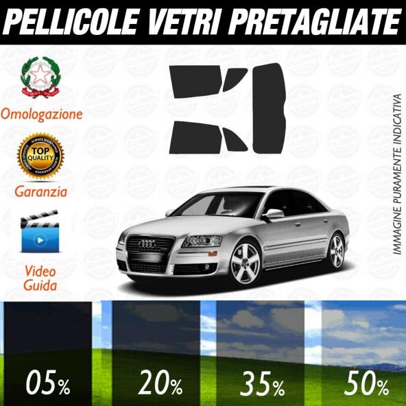 Audi A8 10-16 Pellicole Oscuramento Vetri Auto Pre Tagliate a Misura
