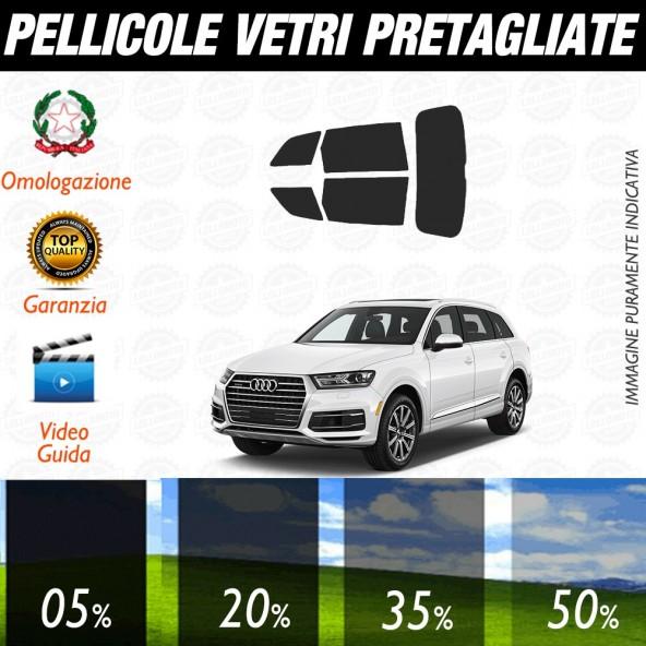 Audi Q3 15-17 Pellicole Oscuramento Vetri Auto Pre Tagliate a Misura