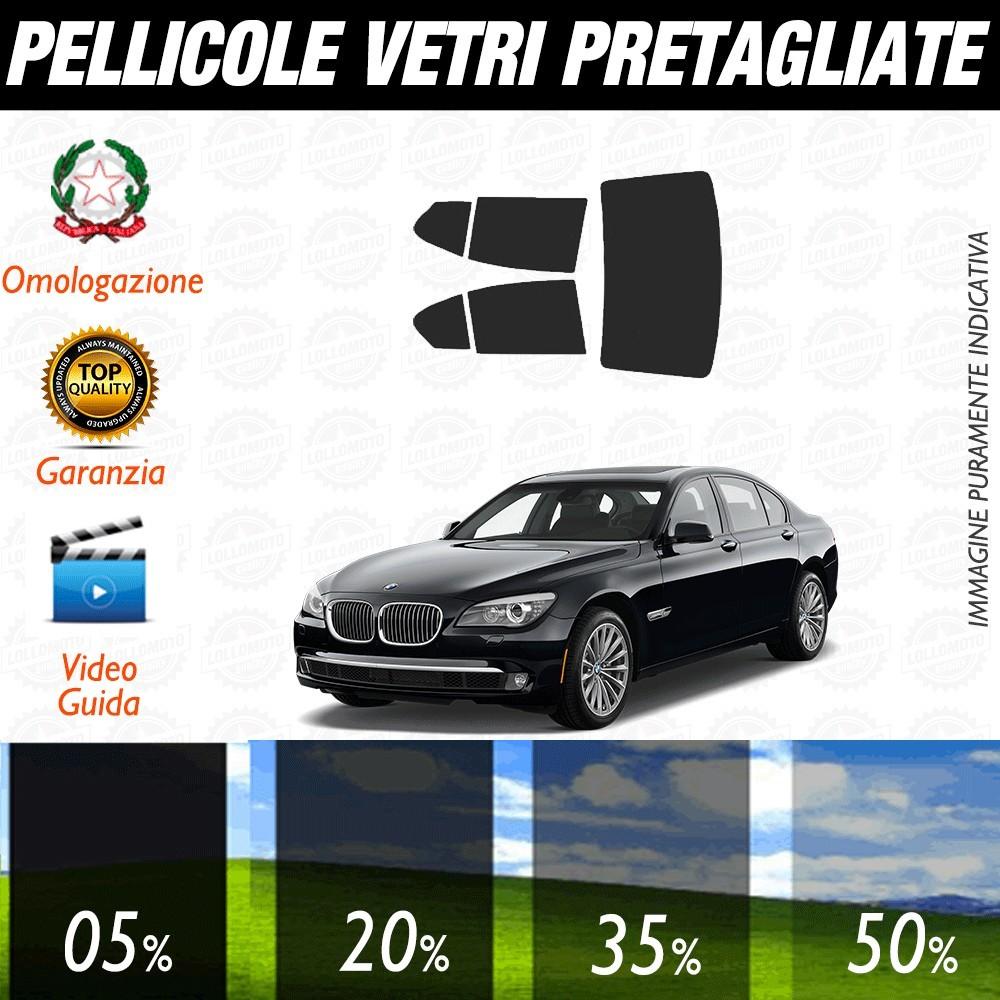 Bmw Serie 5 GT 09-17 Pellicole Oscuramento Vetri Posteriori Auto Pre Tagliate a Misura