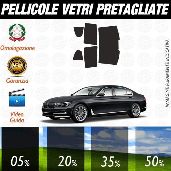 Bmw Serie 7 Berlina 09-12 Pellicole Oscuramento Vetri Posteriori Auto Pre Tagliate a Misura