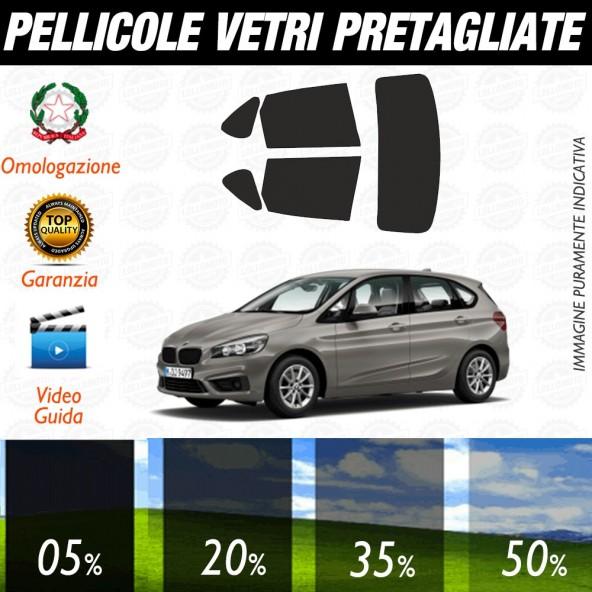 Bmw Serie 7 Short 02-08 Pellicole Oscuramento Vetri Posteriori Auto Pre Tagliate a Misura