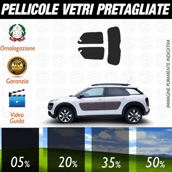 Citroen C3 Picasso 09-13 Pellicole Oscuramento Vetri Posteriori Auto Pre Tagliate a Misura