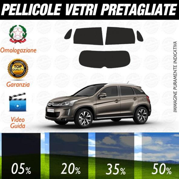 Citroen C4 Picasso 06-13 Pellicole Oscuramento Vetri Posteriori Auto Pre Tagliate a Misura