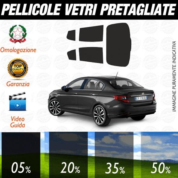 Fiat Tipo Sw 5P 16-17 Pellicole Oscuramento Vetri Auto Pre Tagliate a Misura