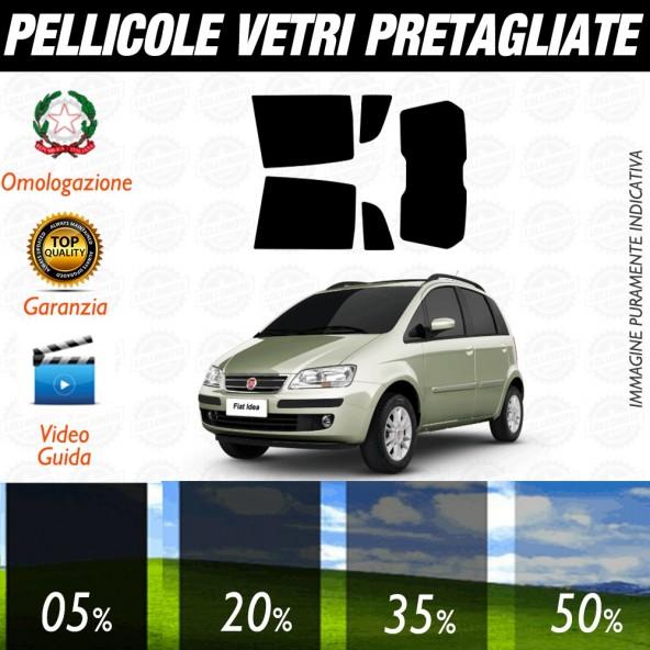 Fiat Grande Punto Evo 5P 06-17 Pellicole Oscuramento Vetri Auto Pre Tagliate a Misura