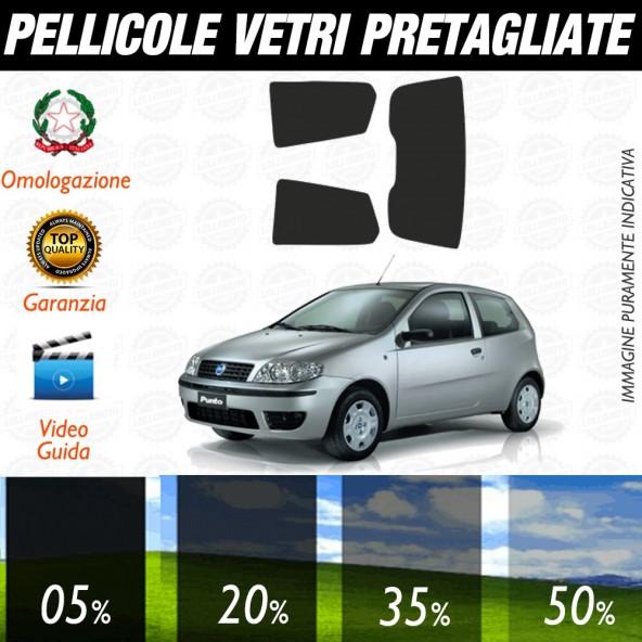 Fiat Punto 5P 93-99 Pellicole Oscuramento Vetri Auto Pre Tagliate a Misura