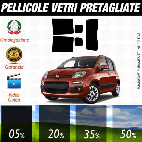 Fiat Punto 3P 00-06 Pellicole Oscuramento Vetri Auto Pre Tagliate a Misura