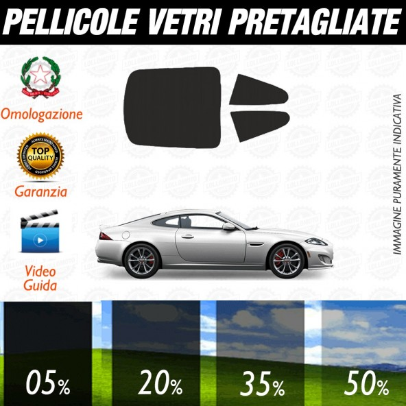 Jaguar Xf / Xfr Sedan 10-13 Pellicole Oscuramento Vetri Auto Pre Tagliate a Misura