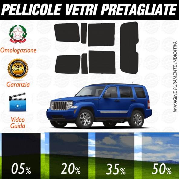 Jeep Cherokee 14-17 Pellicole Oscuramento Vetri Auto Pre Tagliate a Misura