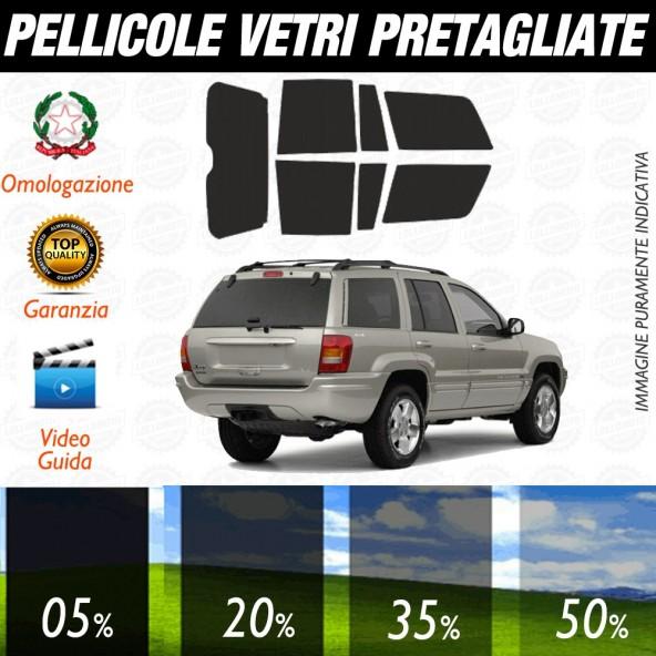Jeep Renegade 15-17 Pellicole Oscuramento Vetri Auto Pre Tagliate a Misura