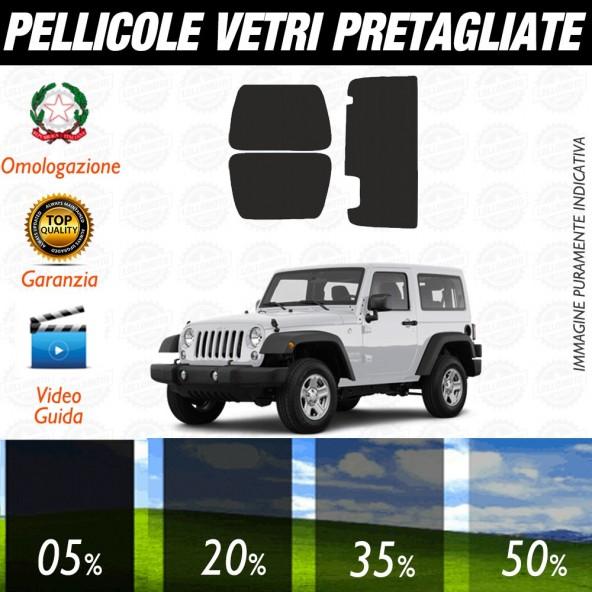 Jeep Cherokee 09-13 Pellicole Oscuramento Vetri Auto Pre Tagliate a Misura