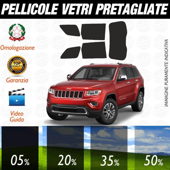 Jeep Gran Cherokee 99-04 Pellicole Oscuramento Vetri Auto Pre Tagliate a Misura