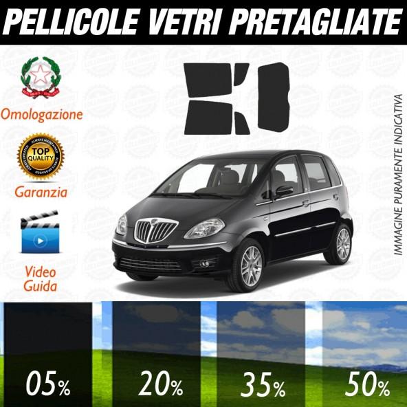 Lancia Delta 5P 09-17 Pellicole Oscuramento Vetri Auto Posteriore Pre Tagliate a Misura