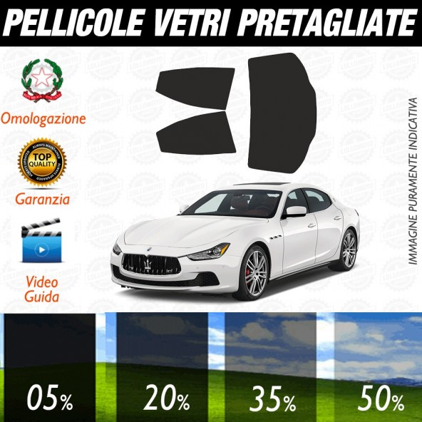 Maserati Levante 16-17  Pellicole Oscuramento Vetri Auto Pre Tagliate a Misura Posteriore