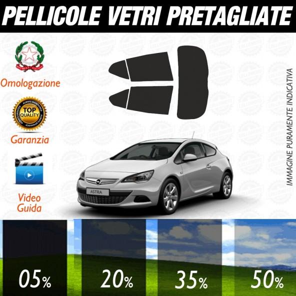 Opel Astra 5P 09-15 Pellicole Oscuramento Vetri Auto Pre Tagliate a Misura