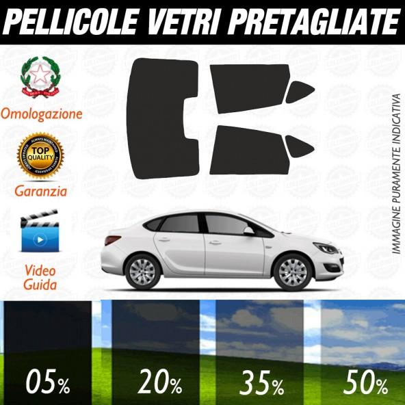 Opel Astra 5P 16-17 Pellicole Oscuramento Vetri Auto Pre Tagliate a Misura