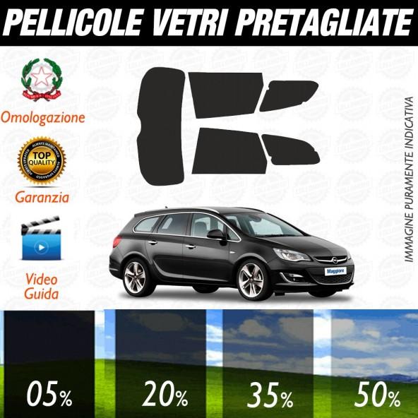 Opel Astra Berlina 12-17 Pellicole Oscuramento Vetri Auto Pre Tagliate a Misura