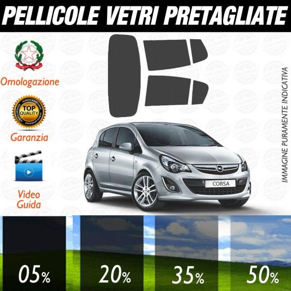 Opel Corsa 3P 06-15 Pellicole Oscuramento Vetri Auto Pre Tagliate a Misura