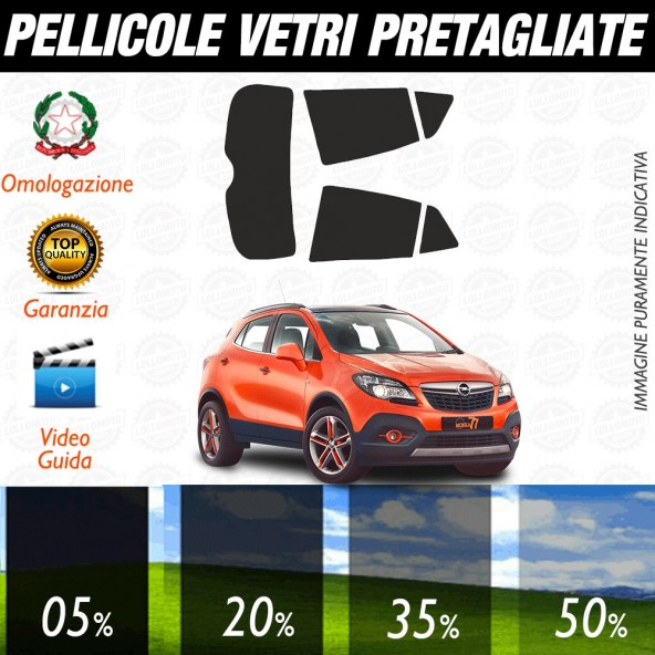 Opel Insigna Berlina 09-17 Pellicole Oscuramento Vetri Auto Pre Tagliate a Misura