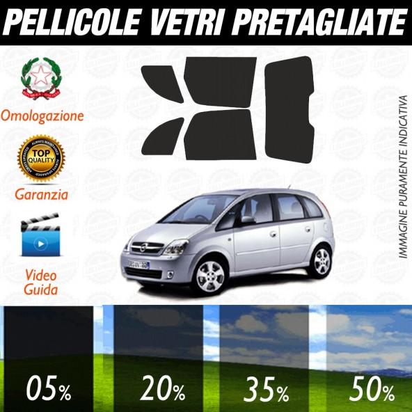 Opel Mokka 12-17 Pellicole Oscuramento Vetri Auto Pre Tagliate a Misura