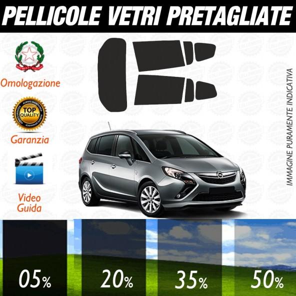 Opel Zafira 05-10 Pellicole Oscuramento Vetri Auto Pre Tagliate a Misura