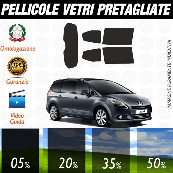 Peugeot 308 Sw 14-16 Pellicole Oscuramento Vetri Auto Pre Tagliate a Misura Posteriore