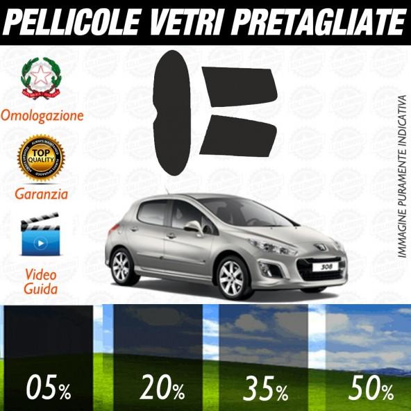 Peugeot 3008 2017 Pellicole Oscuramento Vetri Auto Pre Tagliate a Misura Posteriore